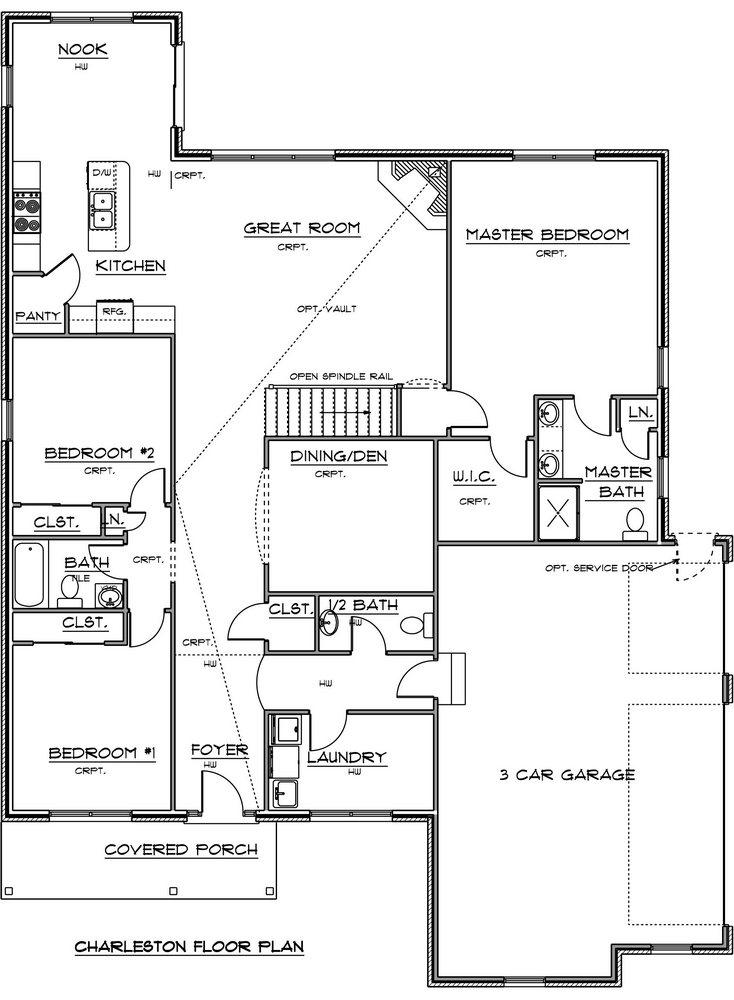 Charleston Home Plan