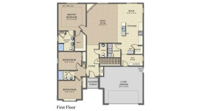 Albany Floor Plan