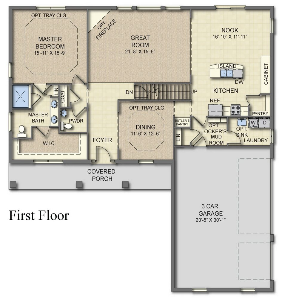 Bristol 1st Floor Plan