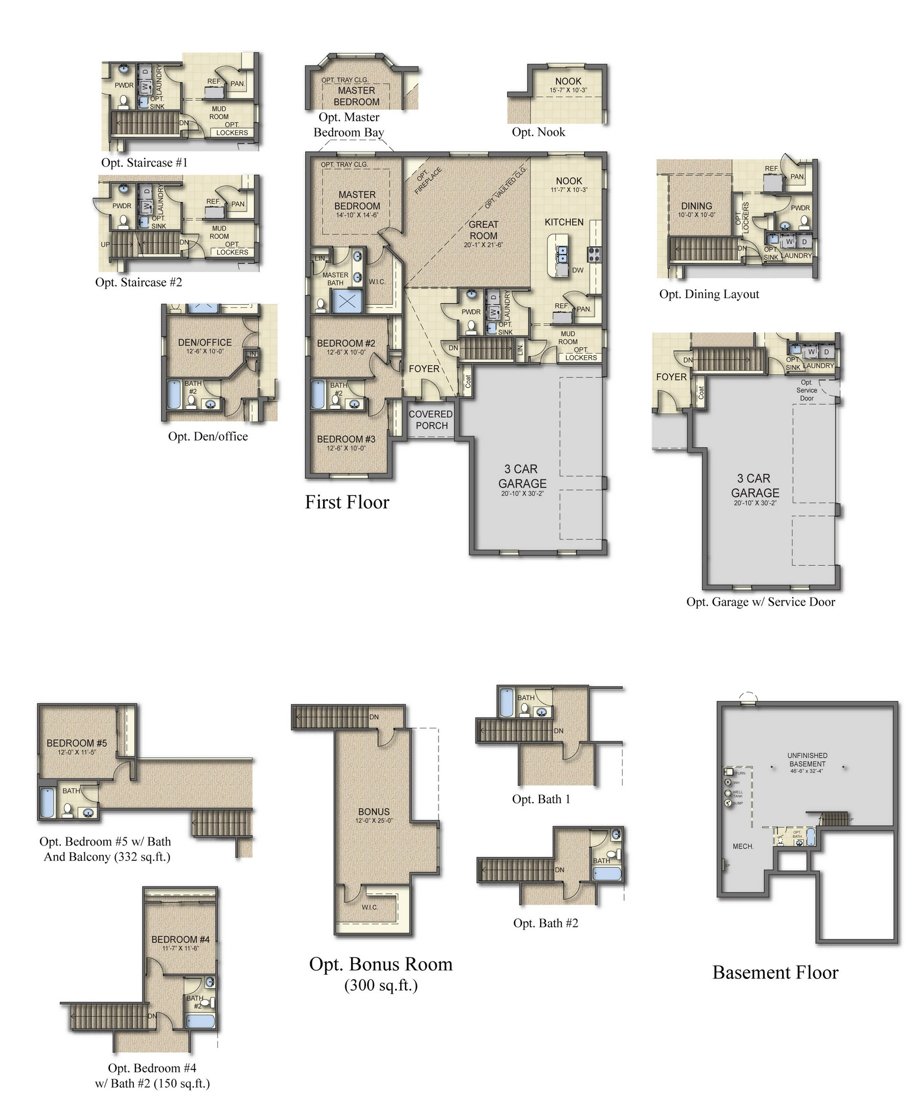 3 car garage floor plans for Car floor plan