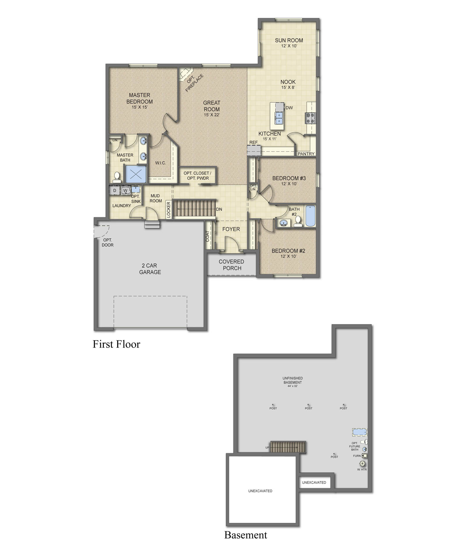 Richmond all plans are fully customizable build with for Richmond floor plan