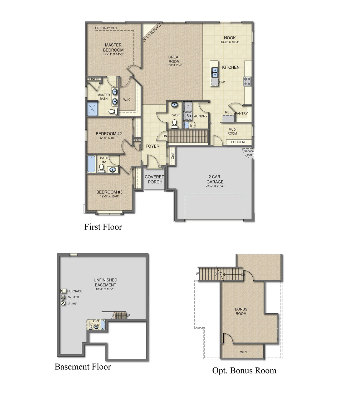 New homes for sale in howell mi albany home plan Michigan home builders floor plans