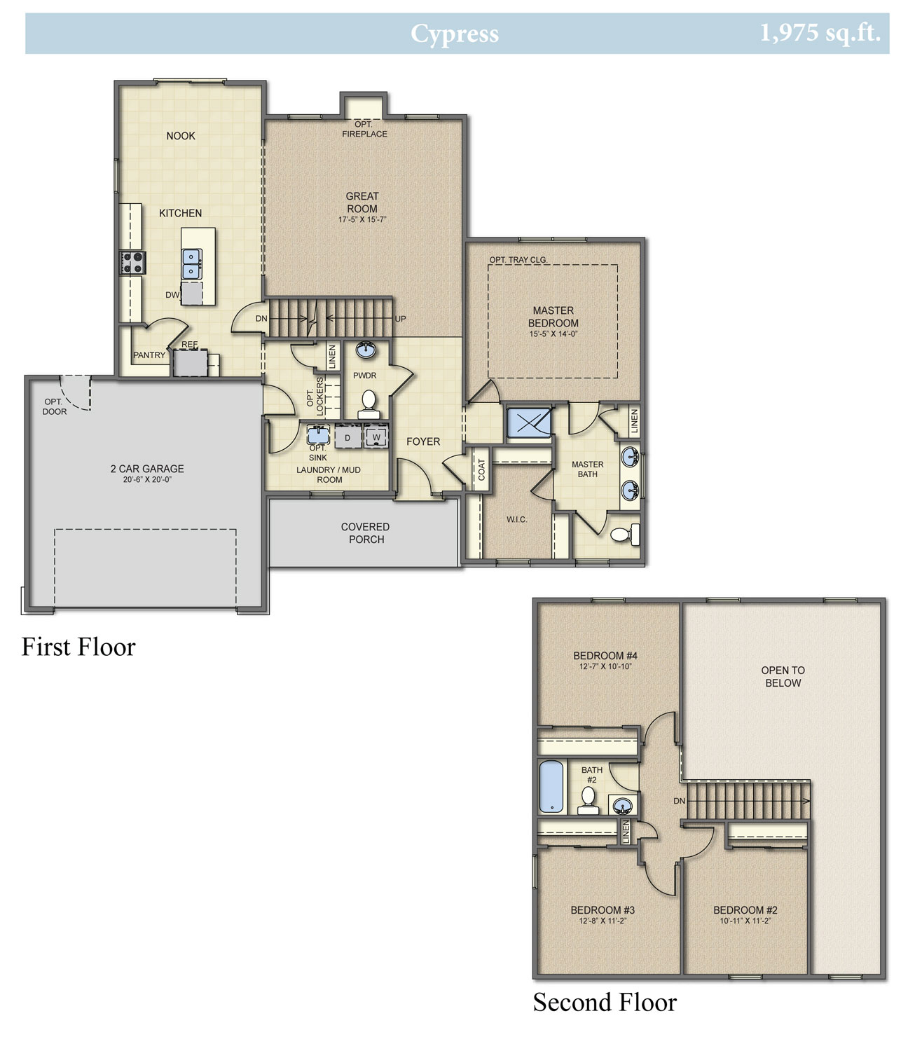 Cypress All Plans Are Fully Customizable Build With Capital Homes