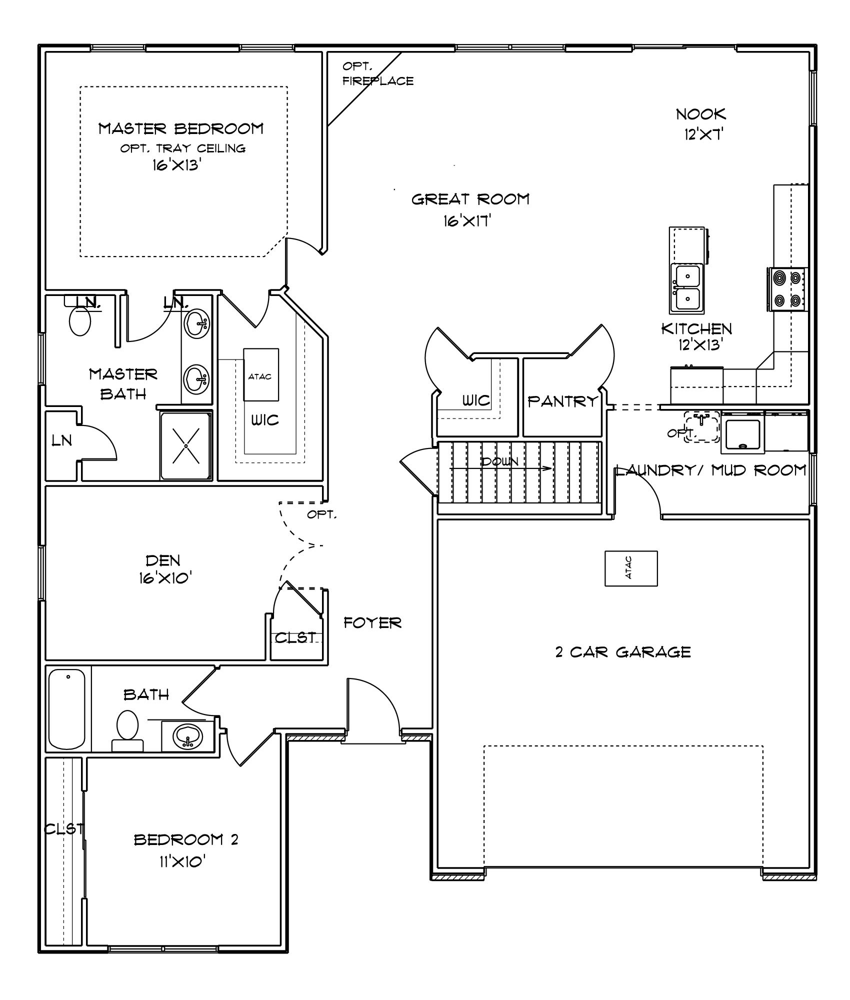 Sheffield all plans are fully customizable build with for Sheffield floor plan