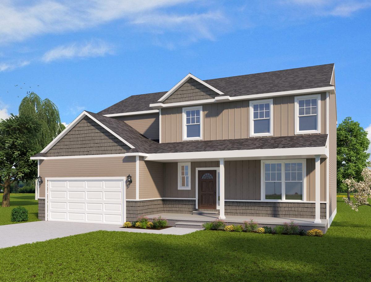 Durango Custom Home Plan Michigan