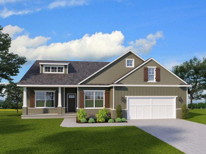 Greystone Custom Home Plans Howell