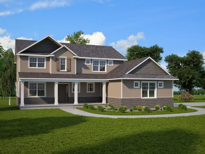Kensington Custom Home Plans Howell