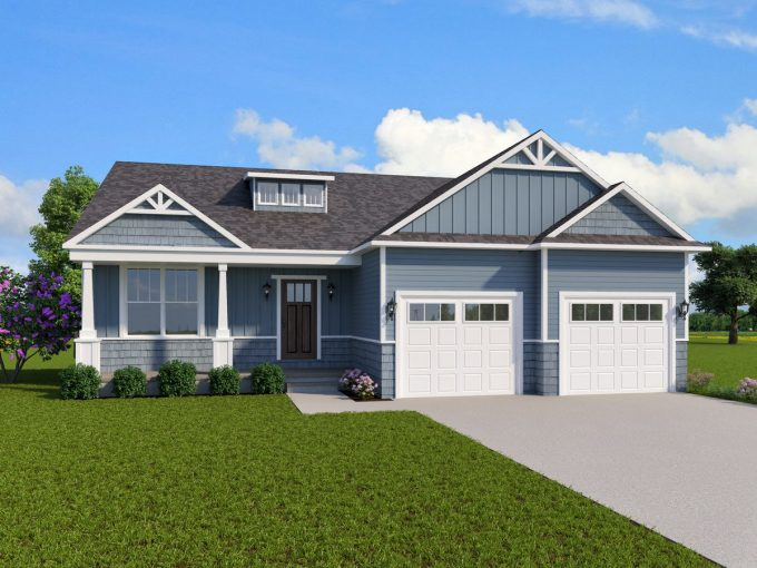 Sycamore Custom Home Plans MI