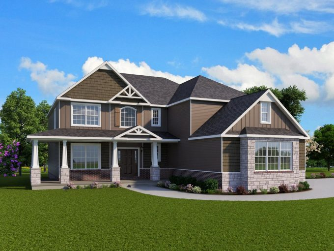 Augusta Home Plan Howell MI