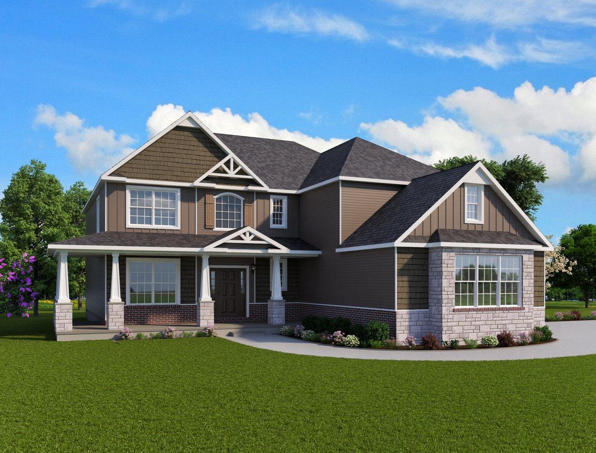 Augusta Home Plan Howell MI