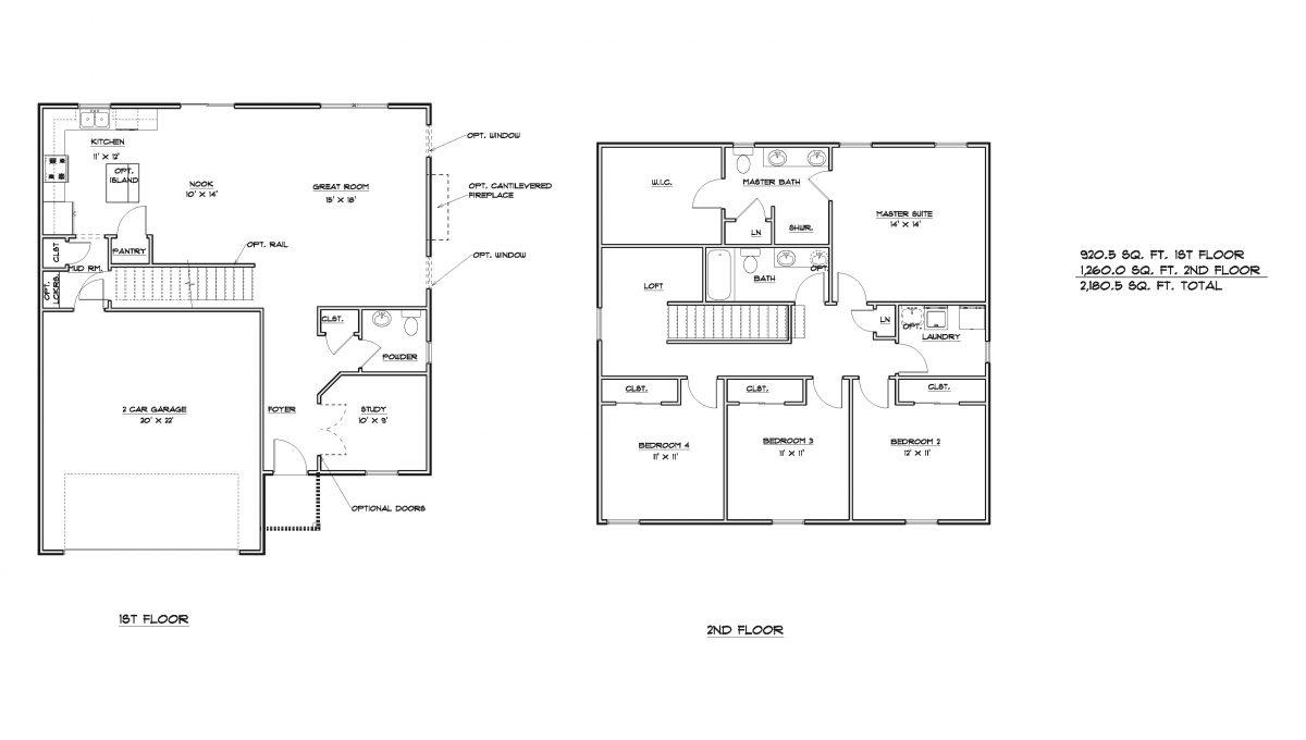 Yukon Marketing Floor Plans REV 2-21-20